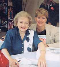 Betty White and Maryjean Ballner