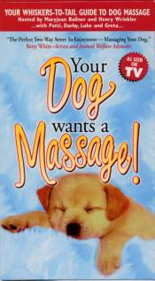 Dog Massage Video - VHS